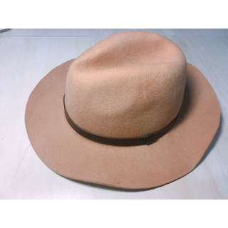 駝色紳士帽
