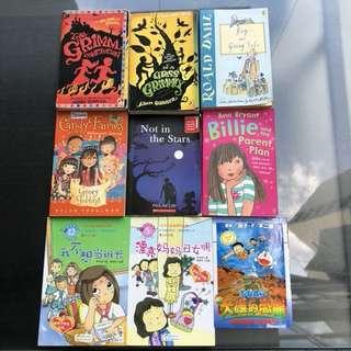 English & Chinese story books