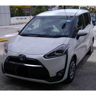 Toyota Sienta Hybrid New $500 Driveaway