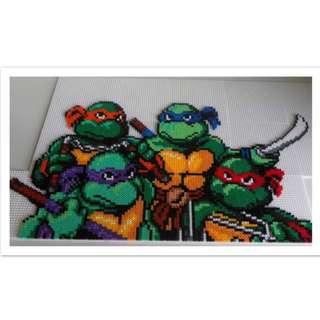 Ninja Turtles Hama Bead Designs