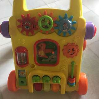 Walking learning toy for baby