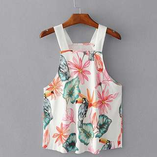 NEW Floral Halter Top