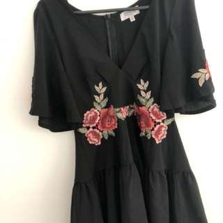 Shareen Floral Playsuit