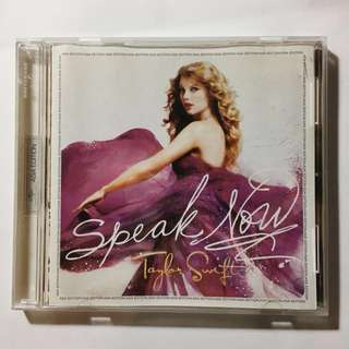 [WTS] taylor swift - speak now album (asia edition)