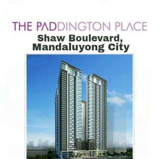 Affordable Hi End Condo in Shaw Mandaluyong 7K Monthly Studio At Paddington Place