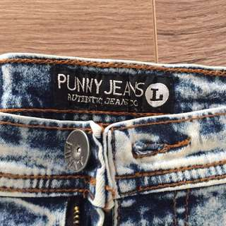 High waist jeans size 8-10