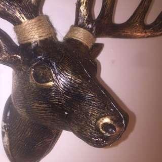 Deer Head Decor