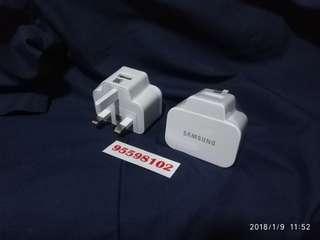 Samsung standard USB charger (5V, 2A)