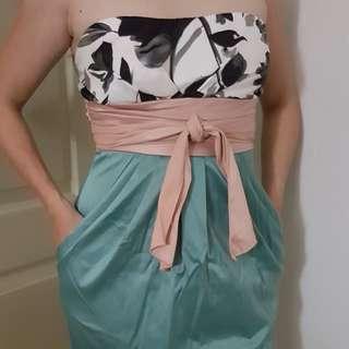Forever 21 satin tube dress XS / S