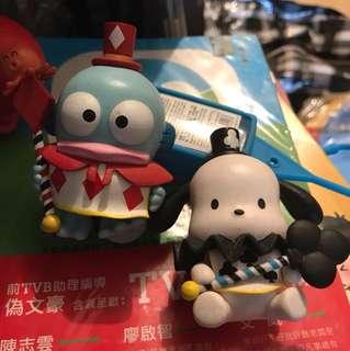 7-11 Hellokitty 城堡款 2 個Hangyodon
