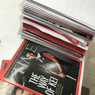 [CLEARANCE] The Economist & TIMES Magazine