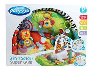PlayGro Safari Super Gym 3 in 1 for infant Toddler