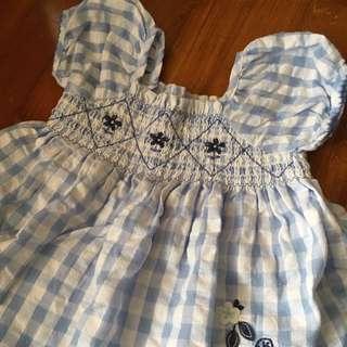 Pumpkin Patch Baby Dress