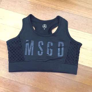 Missguided sports bra size8