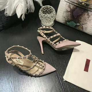 pinky valen*ino shoes 😍