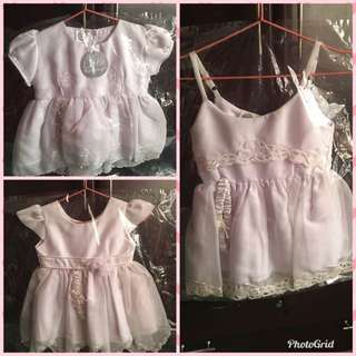 Baby Girl Christening Baptismal Dress Outfit