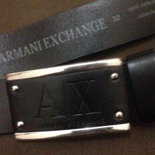 Belt armani exchange