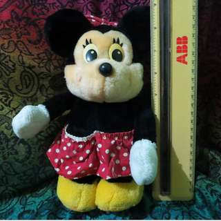Minnie Mouse stuffed toy