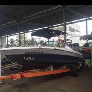 Four Winns Fishing Speed Boat. 5.2m.