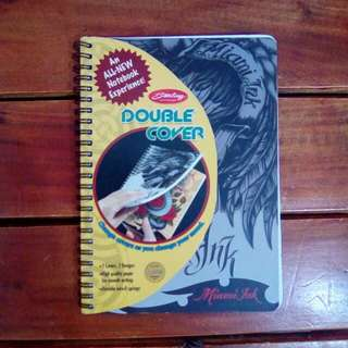 Sterling Double Cover Notebook: Miami Ink