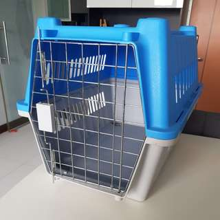 Large Pet Carrier in Blue