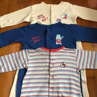 Mothercare Sleepsuit set