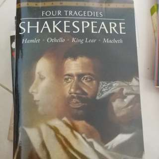 Four Tragedies - Hamlet, Othello, King Lear, Macbeth by William Shakespeare (Bantam Classics)