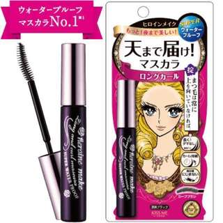 Brand New Authentic Isehan Kiss Me Heroine Make Long and Curl Super Waterproof Mascara