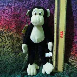 Monkey stuffed toy from Enchanted Kingdom
