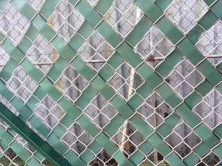 Aluminum Green Slat Screen Fencing