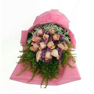 Valentine Kiss Bouquet V2 - Yehwu