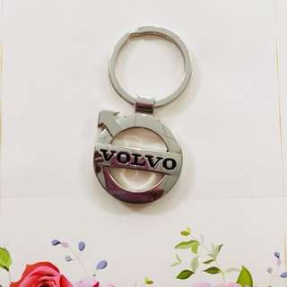 Volvo steel key holder / keychain