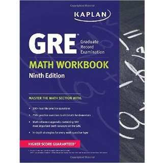 GRE Math Workbook Ninth Edition