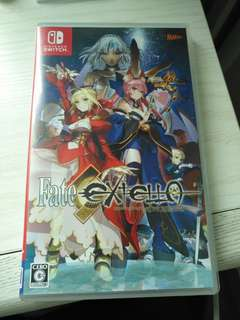 nintendo switch Fate extella