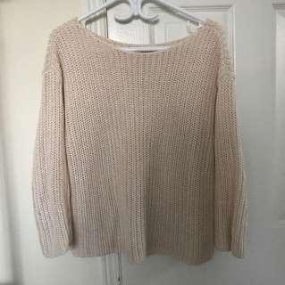 Aritzia babaton knit sweater