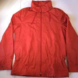 Lacoste 女裝橙色兩層外套 38