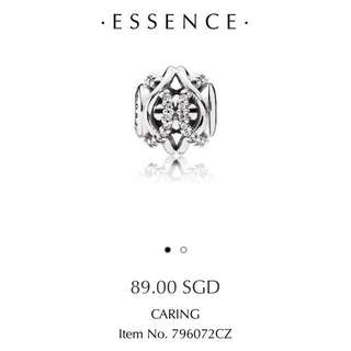 Pandora Essence Charms - Caring / Patience / Affection / Freedom