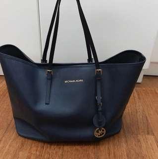 Michael Kors Tote Bag (Navy Blue)