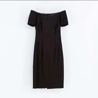 authentic ZARA off shoulder dress