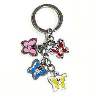 Character Color Keychain (Butterfly)