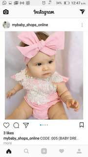 Romper lace 3-6 month