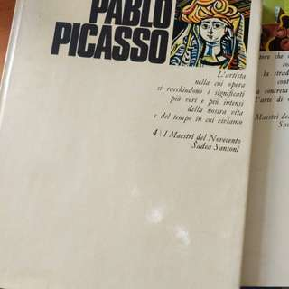 Pablo Picasso coffee table book