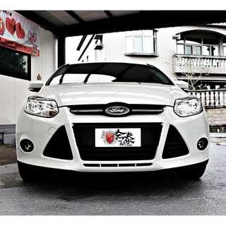 2013 ford focus 1.6 白