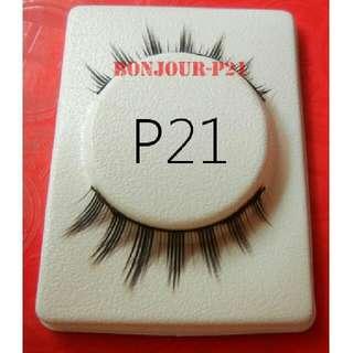 #P21 Fake Eyelashes Black Colour Sellzabo Eyelash Eyes Lash Lashes Eyeslash Eyeslashes False Makeup