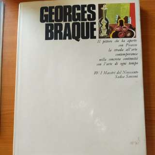 George Braque coffee table art book