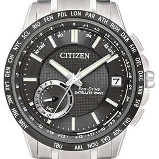 "Citizen Eco-Drive Promaster ""CC3007-55E"" ( 光動能/全球性GPS衛星對時系統/萬年曆/防反射塗層藍寶石玻璃錶面/MADE IN JAPAN )(可簽卡/可分期/現金交易優惠)01/09"
