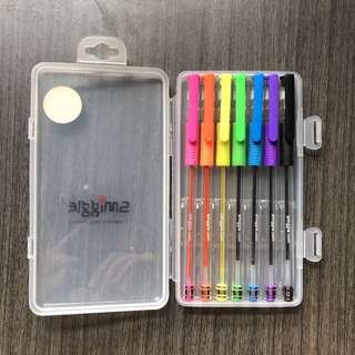 Smiggle scented inkball pen set