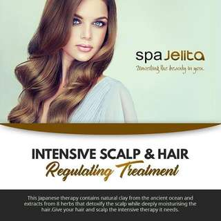 Intensive Scalp & Hair Regulating Treatment