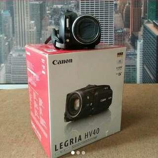 Canon Legria HV40 Camcoder