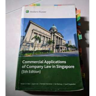 AC2302 5E Commercial Applications of Company Law in Singapore